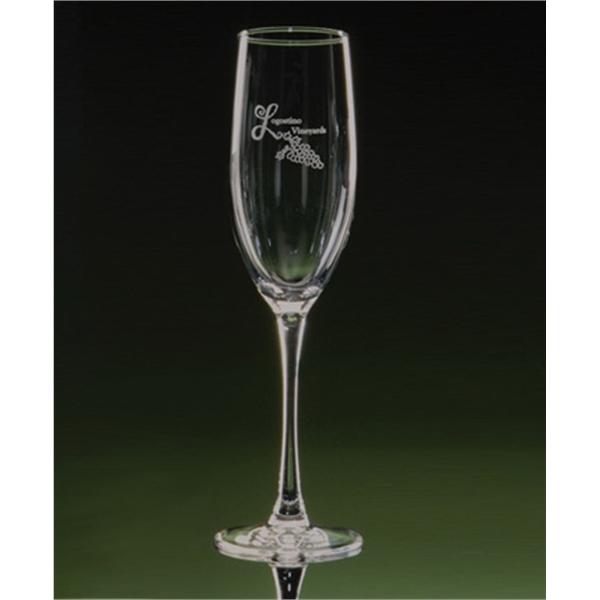 Afficionado - Set Of 2 Stemmed Flute Glasses Photo