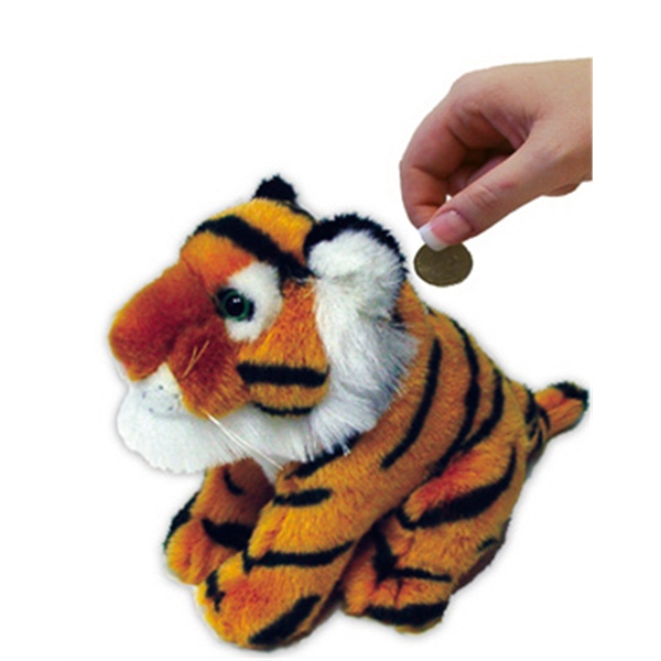 Stuffed Toy Coin Bank