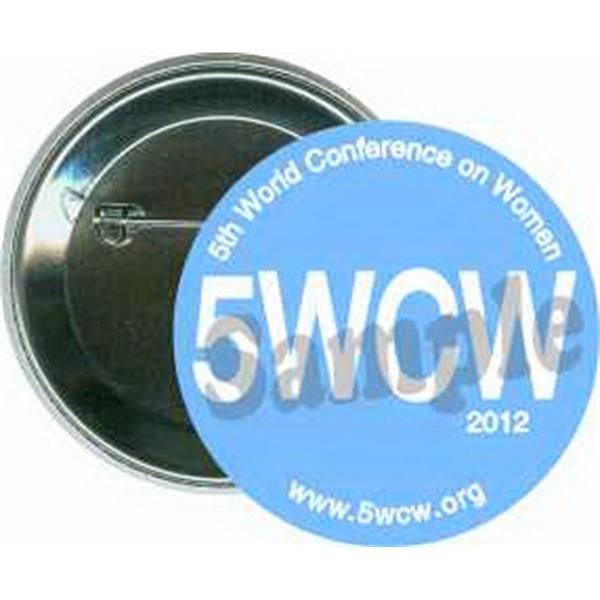 5WCW 2012, Women's Organization Button