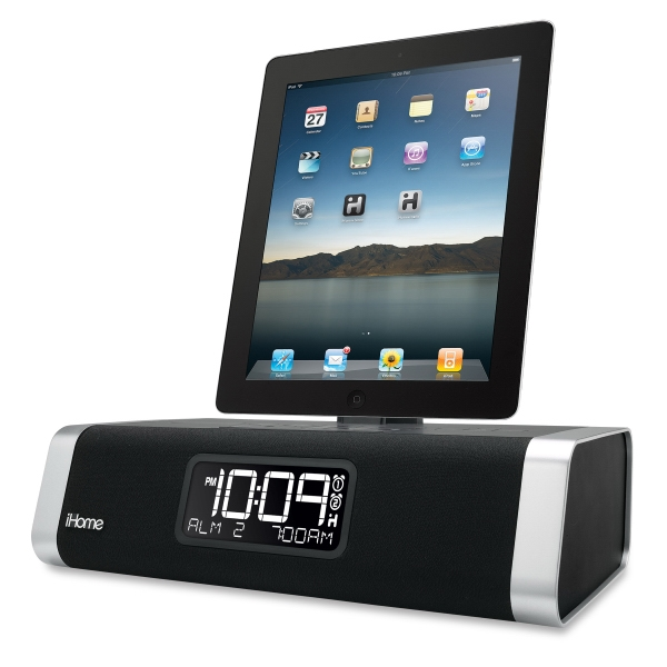 App-Enhanced Dual Alarm Clock Radio