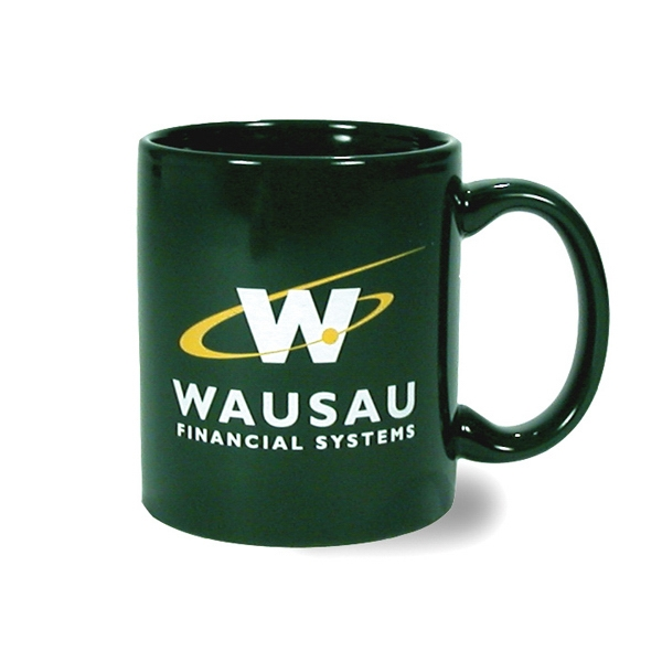 Hartford - Dark Green - Ceramic Mug, 11 Ounces Photo