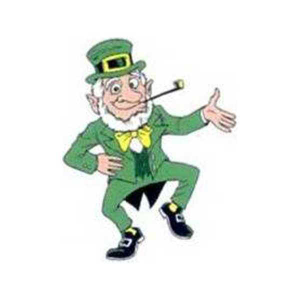 "Temporary Tattoos (tm) - Stock, Non Toxic, Hypoallergenic 2"" X 2"" Leprechaun Tattoo, Fda Certified Photo"