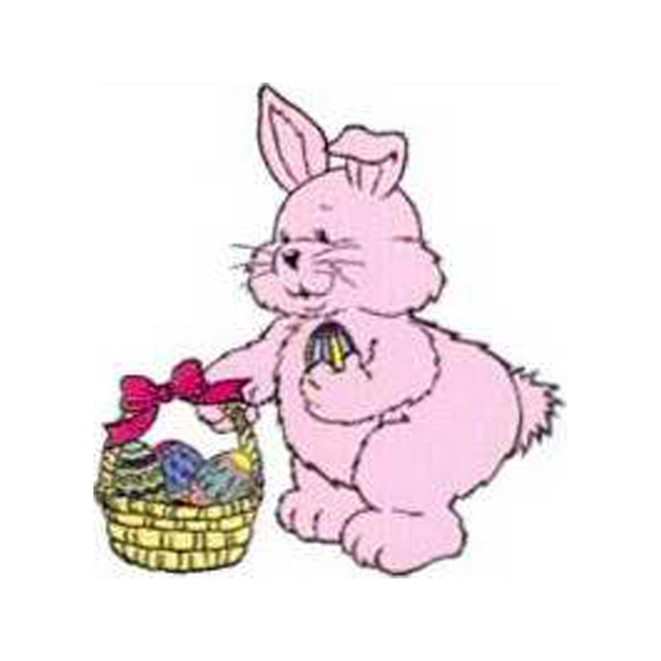 "Temporary Tattoos (tm) - Stock, Non Toxic, Hypoallergenic 2"" X 2"" Easter Bunny Tattoo, Fda Certified Photo"
