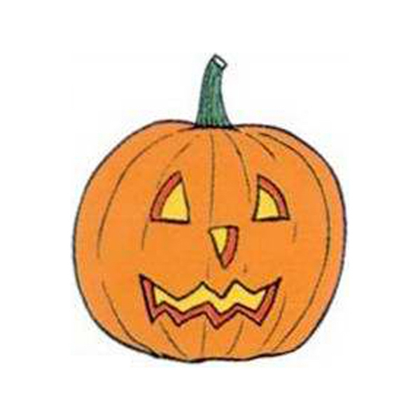 "Temporary Tattoos (tm) - Stock, Non Toxic, Hypoallergenic 2"" X 2"" Jack O' Lantern Tattoo Is Fda Certified Photo"