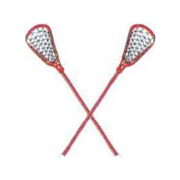 "Temporary Tattoos (tm) - Stock, Non Toxic, Hypoallergenic, 2"" X 2"" Lacrosse Sticks Tattoo Is Fda Certified Photo"