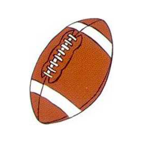 "Temporary Tattoos (tm) - Stock, Non Toxic, Hypoallergenic 2"" X 2"" Football Tattoo Is Fda Certified Photo"