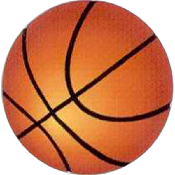 "Temporary Tattoos (tm) - Stock, Non Toxic, Hypoallergenic 2"" X 2"" Basketball Tattoo Is Fda Certified Photo"