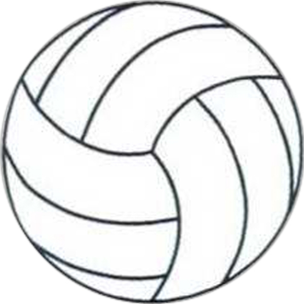"Temporary Tattoos (tm) - Stock, Non Toxic, Hypoallergenic 2"" X 2"" Volleyball Tattoo Is Fda Certified Photo"