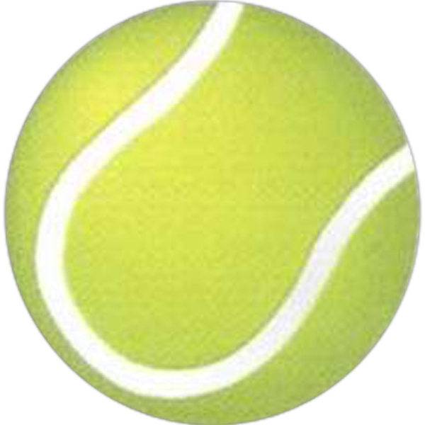 "Temporary Tattoos (tm) - Stock, Non Toxic, Hypoallergenic 2"" X 2"" Tennis Ball Tattoo Is Fda Certified Photo"