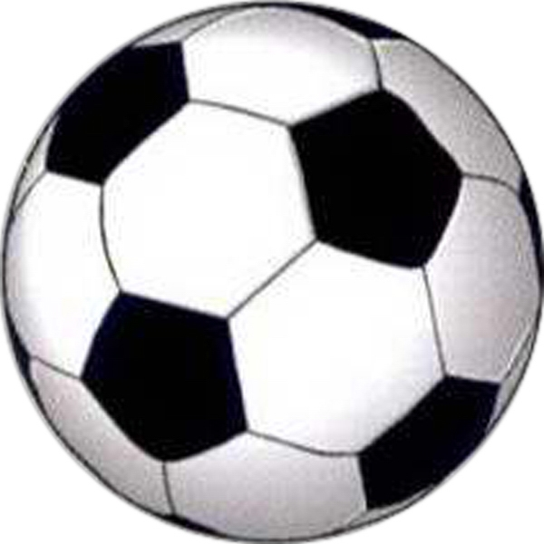 "Temporary Tattoos (tm) - Stock, Non Toxic, Hypoallergenic 2"" X 2"" Soccer Ball Tattoo Is Fda Certified Photo"