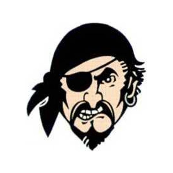 "Temporary Tattoos (tm) - Stock, Non Toxic, Hypoallergenic 2"" X 2"" Pirate Tattoo Is Fda Certified Photo"
