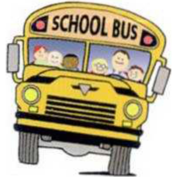 "Temporary Tattoos (tm) - Stock, Non Toxic, Hypoallergenic, 2"" X 2"" School Bus Tattoo Photo"