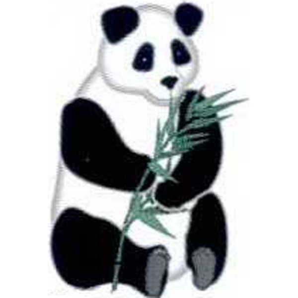"Temporary Tattoos (tm) - Stock, Non Toxic, Hypoallergenic 2"" X 2"" Panda Tattoo Is Fda Certified Photo"