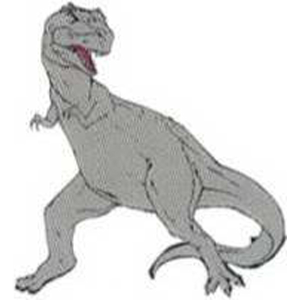 "Temporary Tattoos (tm) - Stock, Non Toxic, Hypoallergenic 2"" X 2"" T-rex Dinosaur Tattoo Is Fda Certified Photo"