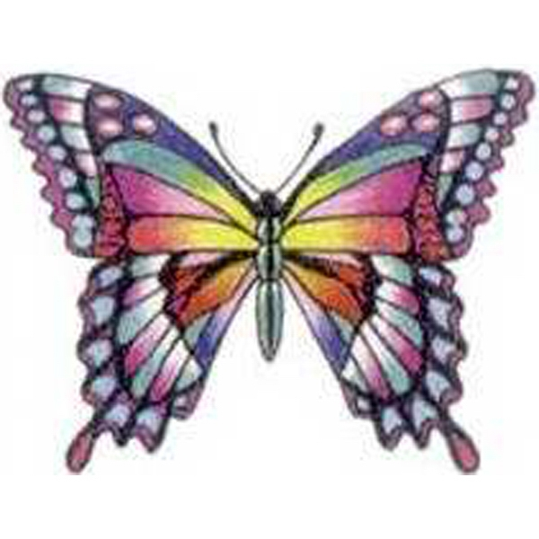 Temporary Tattoos (tm) - Stock, Non Toxic, Hypoallergenic Swallowtail Butterfly Tattoo Is Fda Certified Photo