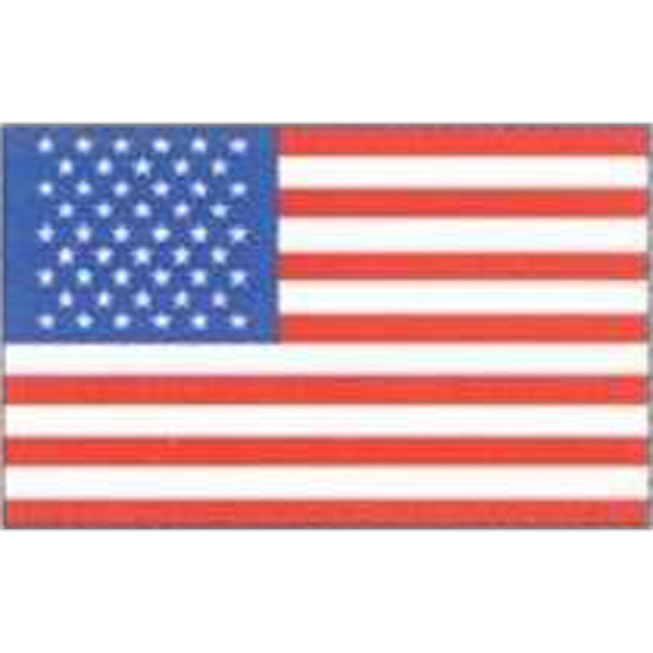 "Temporary Tattoos (tm) - Stock, Non Toxic, Hypoallergenic, 2"" X 2"" American Flag Tattoo Photo"
