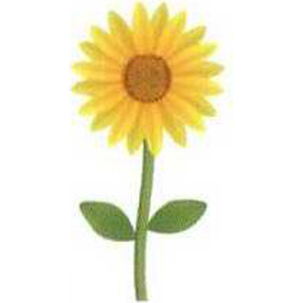 "Temporary Tattoos (tm) - Stock, Non Toxic, Hypoallergenic, 2"" X 2"" Sunflower Tattoo Photo"