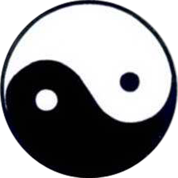 "Temporary Tattoos (tm) - Stock, Non Toxic, Hypoallergenic, 2"" X 2"" Yin Yang Tattoo Photo"