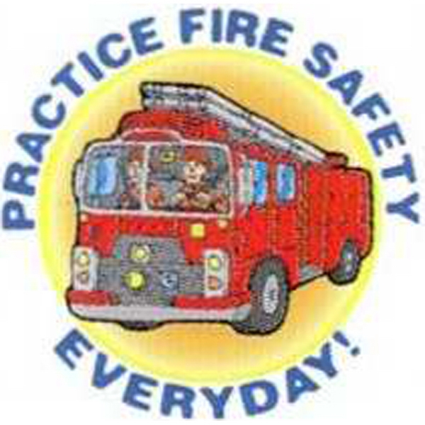 "Temporary Tattoos (tm) - Stock, Non Toxic, Hypoallergenic 2"" X 2"" Fire Truck Tattoo Is Fda Certified Photo"