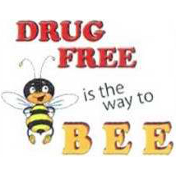 Temporary Tattoos (tm) - Stock, Non Toxic, Hypoallergenic Drug Free Is The Way To Bee Tattoo Photo