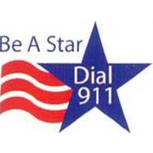Temporary Tattoos (tm) - Stock, Non Toxic, Hypoallergenic Be A Star Dial 911 Tattoo Is Fda Certified Photo
