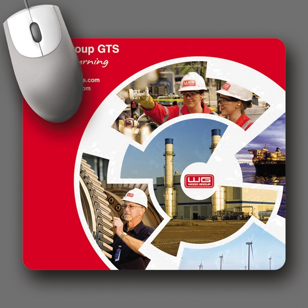 "Origin'l Fabric (r) - 7.5""x8.5""x1/4""-antimicrobial Fabric Surface Mouse Pad-5-day; Rush: 24hr,1,2,or 3-day Photo"