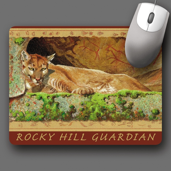 "Origin'l Fabric (r) - 7""x9""x1/4""-antimicrobial Fabric Surface Mouse Pad-5-day; Rush: 24hr,1,2,or 3-day Photo"