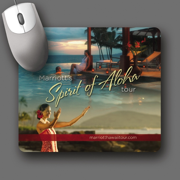 "Origin'l Fabric (r) - 7""x8""x1/4""-antimicrobial Fabric Surface Mouse Pad-5-day; Rush: 24hr,1,2,or 3-day Photo"