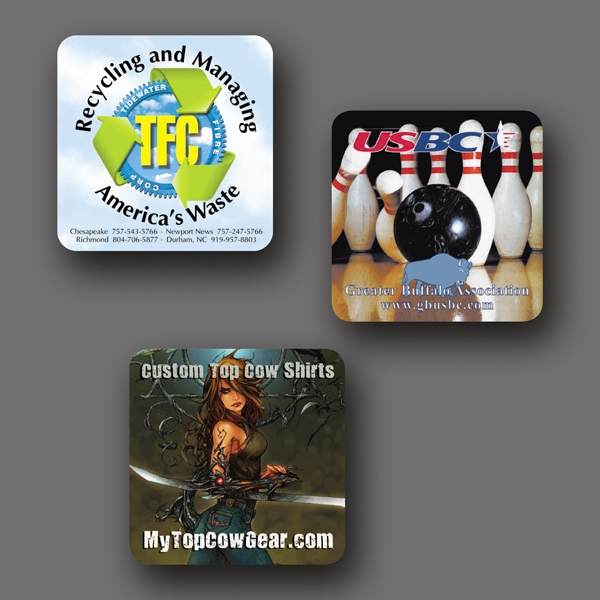 "Origin'l Fabric (r) - 3.6""x3.6""x1/8""-heavy Duty Fabric Surface Coaster-5-day; Rush: 24 Hour,1,2,or 3-day Photo"