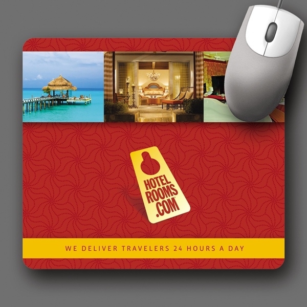"Origin'l Fabric (r) - 7.5""x8.5""x1/8""-antimicrobial Fabric Surface Mouse Pad-5-day; Rush: 24hr,1,2,or 3-day Photo"