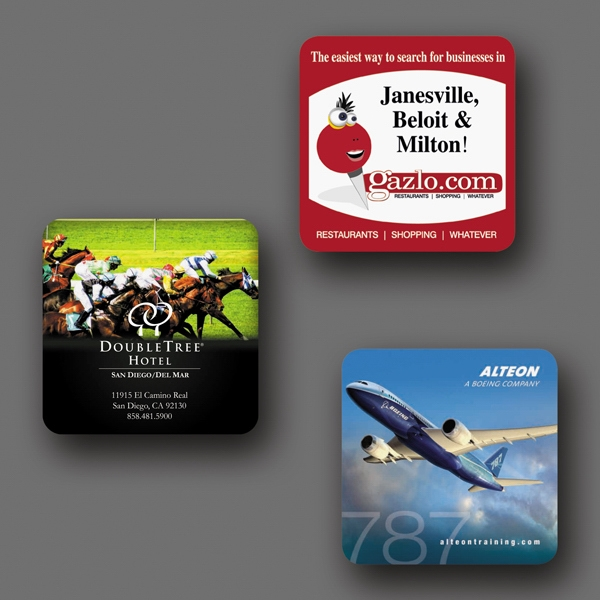 "Origin'l Fabric (r) - 3.6""x3.6""x1/16""-heavy Duty Fabric Surface Coaster-5-day; Rush: 24 Hour,1,2,or 3-day Photo"
