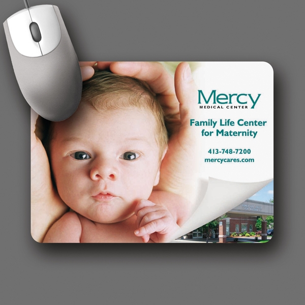 "Origin'l Fabric (r) - 6""x8""x1/16""-antimicrobial Fabric Surface Mouse Pad-5-day; Rush: 24hr,1,2,or 3-day Photo"