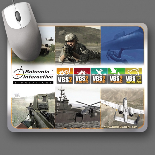 "Vynex (r) Heavy Duty - 7""x9""x3/16""-hard Surface Mouse Pad - 5-day Std.; Rush: 1-day/24 Hour, 2-day Or 3-day Photo"