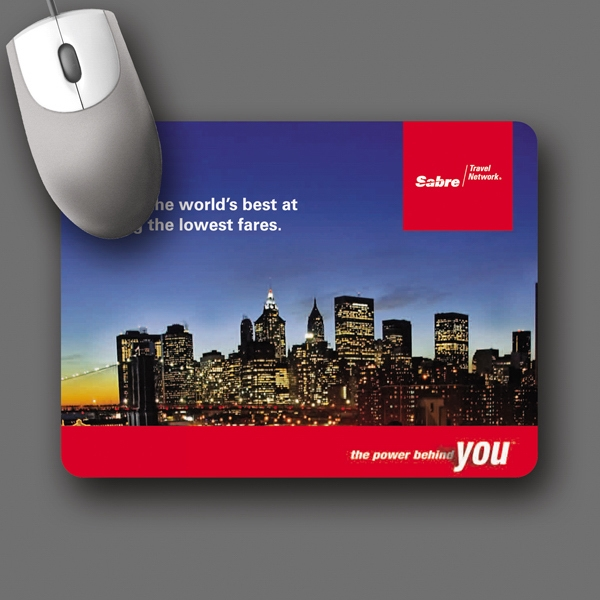 "Vynex (r) Heavy Duty - 6""x8""x1/16""-hard Surface Mouse Pad - 5-day Std.; Rush: 1-day/24 Hour, 2-day Or 3-day Photo"