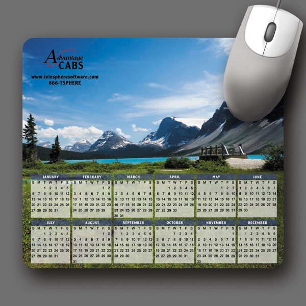 "Vynex (r) Heavy Duty - 7.5""x8.5""x1/8""-hard Surface Mouse Pad-5-day; Rush: 24 Hour,1,2,or 3-day Photo"