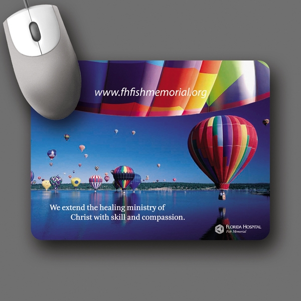 "Barely There (tm) - 6""x8""x.020""-ultra Thin, Hard Surface Mouse Pad-5-day; Rush: 24 Hour,1,2,or 3-day Photo"