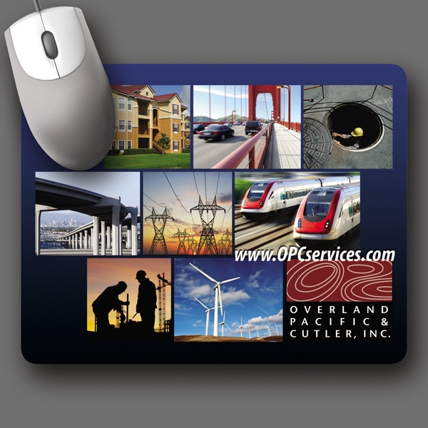 "Barely There (tm) - 7""x9""x.020""-ultra Thin, Hard Surface Mouse Pad-5-day; Rush: 24 Hour,1,2,or 3-day Photo"