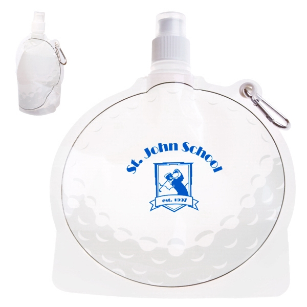 Hydropouch! (tm) - 24 Oz Golf Ball Collapsible Water Bottle Photo