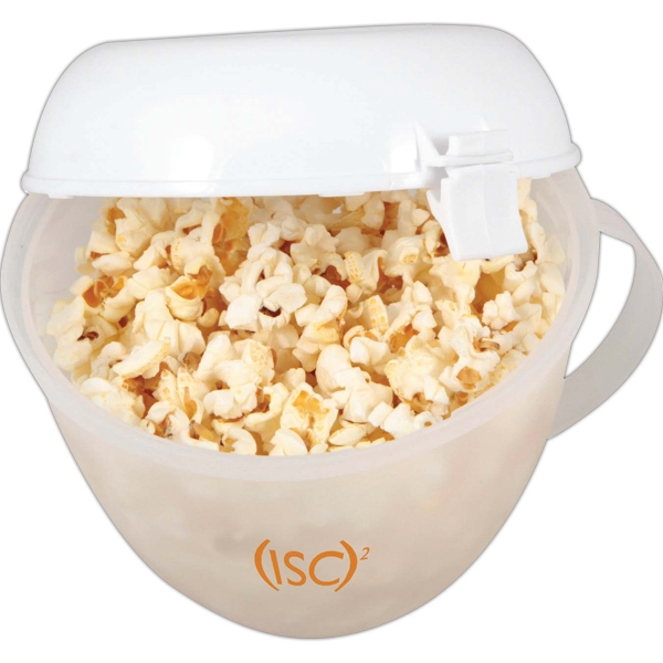 Kitchen Worthy (r) - Microwave Popcorn Popper That Doubles As A Serving Dish Photo