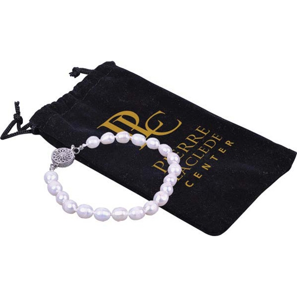 Bret Roberts (tm) - High Luster And Hand Strung Freshwater Pearl Bracelet Photo
