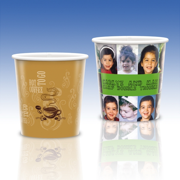 Heavy Duty Paper Hot Cup-12 Oz.-full Color- 5-day Std; Rush: 2,3,or 4-day Photo