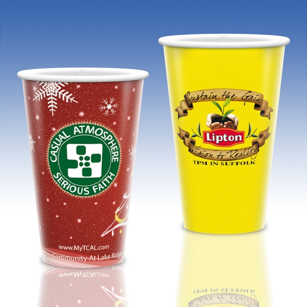 Heavy Duty Paper Hot Cup-16 Oz.-full Color- 5-day Std; Rush: 2,3,or 4-day Photo