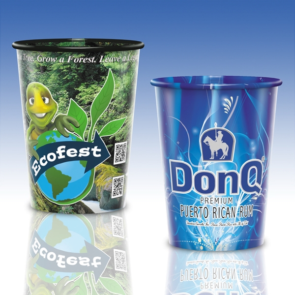 Reusable Clear Plastic Cup-17 Oz.-full Color- 5-day Std; Rush: 2,3,or 4-day Photo