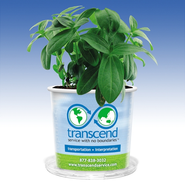 Grow Kit With Seeds And Soil - 16 Oz. - Great Green Promotion! Photo
