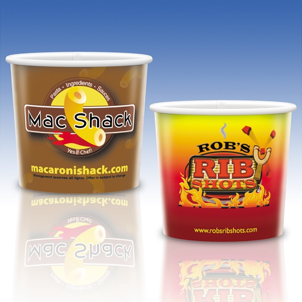 Heavy Duty Paper Hot Container - 16 Oz. - Promotional Container Photo