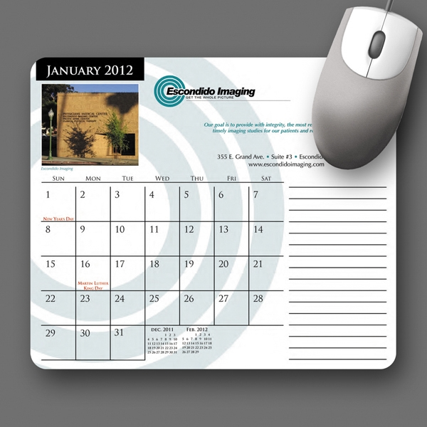 Mousepaper (r) - Recycled Note Paper (landscape) Mouse Pad - 5-day Std; Rush: 3-day Photo