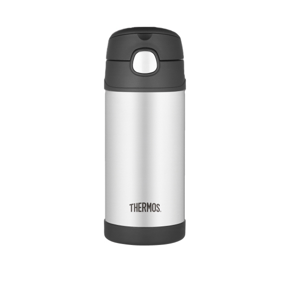 Funtainer (tm) - Stainless Steel Bottle Keeps Cold For 12 Hours. Available May 2012 Photo