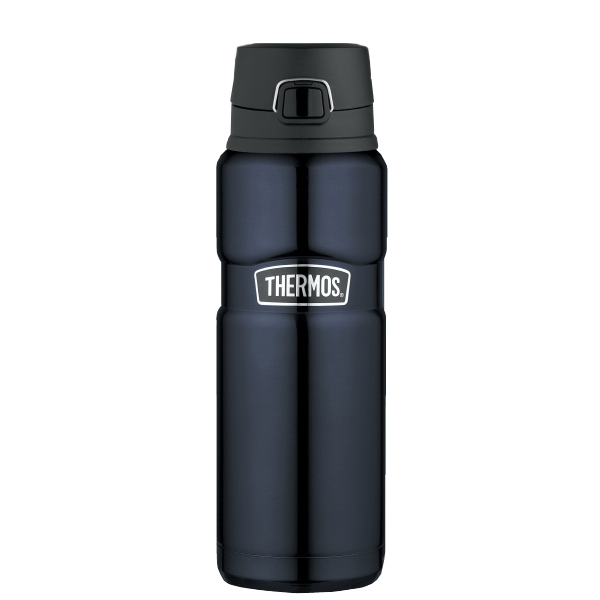 The Stainless King (tm) - Midnight Blue Direct Drink Bottle. 24 Oz/710 Ml. Available May 2012 Photo
