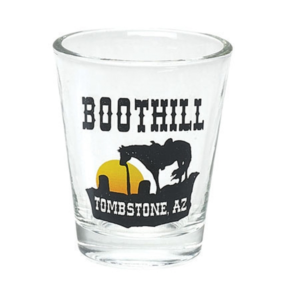 1.5 Oz. Clear Shot Glass Photo