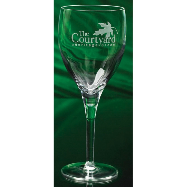 Bellaire - Wine Glass, 8 Oz. All The Hallmarks Of Fine Crystal Photo